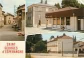 """38 Isere CPSM FRANCE 38 """" St Georges d'Espéranche, Vues"""""""