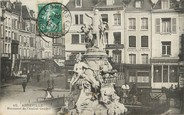 "80 Somme / CPA FRANCE 80 ""Abbeville, monument de l'amiral Courbet"""