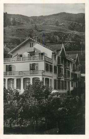 """CPSM FRANCE 73 """" St Bon, Hôtel du Lac Bleu"""""""