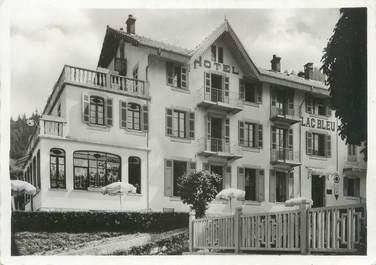 """CPSM FRANCE 73 """" St Bon, L'Hôtel du Lac Bleu"""""""