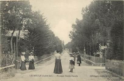"""CPA FRANCE 44 """"La Baule, Avenue Pierre Percée"""""""