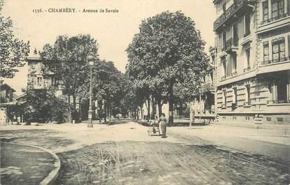"""CPA FRANCE 73 """" Chambéry, Avenue de Savoie"""""""