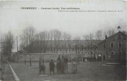 """CPA FRANCE 73 """" Chambéry, Vue extérieure de la Caserne Curial"""""""