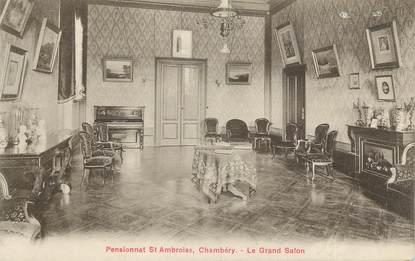 """CPA FRANCE 73 """" Chambéry, Le Grand Salon du Pensionnat St Ambroise"""""""