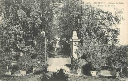 """CPA FRANCE 73 """" Chambéry, Le Château de Biolet, l'Avenue des Tilleuls"""""""