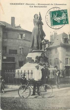 """CPA FRANCE 73 """" Chambéry, Le monument de l'annexion"""""""