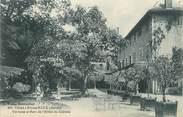 """73 Savoie CPA FRANCE 73 """"Challes les Eaux, Terrasses et parc de l'Hôtel du Château"""""""