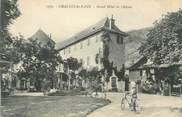 """73 Savoie CPA FRANCE 73 """"Challes les Eaux, Le Grand Hôtel du Château"""""""