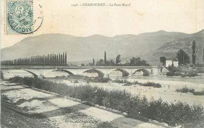 """CPA FRANCE 73 """"Chamousset, Le Pont Royal"""""""