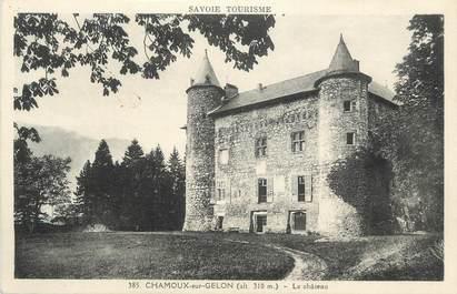 """CPA FRANCE 73 """"Chamoux sur Gelon, Le château"""""""