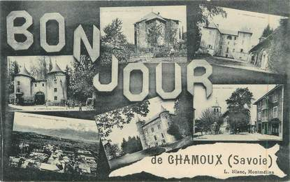 """CPA FRANCE 73 """"Chamoux, Vues"""""""