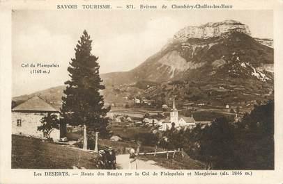 """CPA FRANCE 73 """" Les Déserts, Route des Bauges"""""""