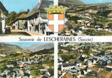 """CPSM FRANCE 73 """" Lescheraines, Vues"""""""