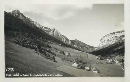 """CPSM FRANCE 73 """" Corbel, Le Creux et le Col de la Cluse"""""""