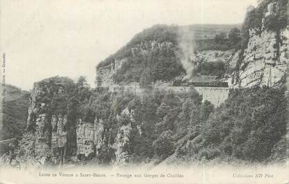 "CPA FRANCE 73 "" Les Gorges de Chailles"""