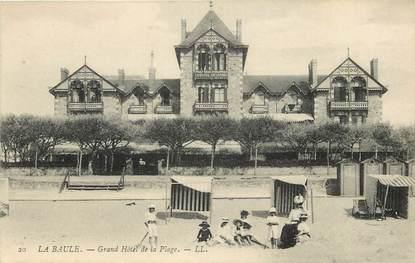 """CPA FRANCE 44 """"La Baule, Grand Hôtel de la Plage"""""""