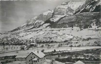 """CPSM FRANCE 73 """"Les Bauges sous la neige"""""""