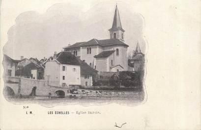 """CPA FRANCE 73 """"Les Echelles , Eglise Savoie"""""""