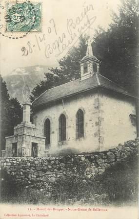 """CPA FRANCE 73 """"Notre Dame de Bellevaux"""""""