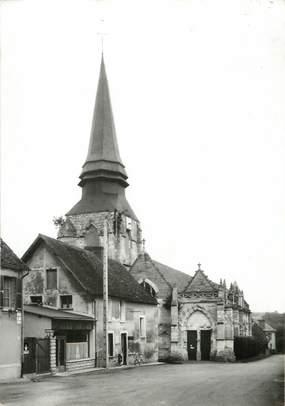 """/ CPSM FRANCE 27 """"Saint Pierre de Bailleul, l'église"""""""