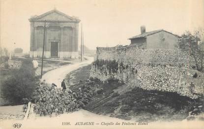 """CPA FRANCE 13 """" Aubagne, Chapelle des Pénitents Blancs"""""""