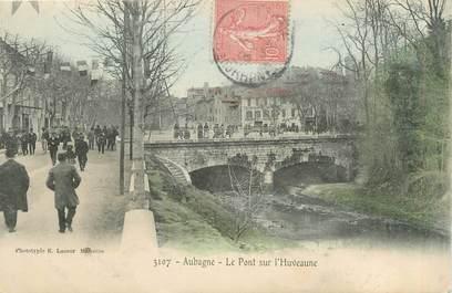 """CPA FRANCE 13 """" Aubagne, Le pont sur l'Huveaune"""""""
