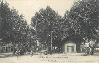"""CPA FRANCE 13 """" Aubagne, Le Cours Barthélémy"""""""