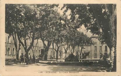 """CPA FRANCE 13 """" Aubagne, Le Cours Beaumont"""""""