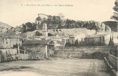"""CPA FRANCE 13 """" Boulbon, Le vieux château"""""""