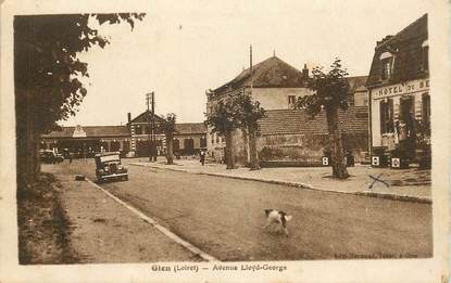 "CPA FRANCE 45 ""Gien, avenue Lloyd George"""