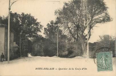 "CPA FRANCE 13 "" Bouc Bel Air, Quartier de la Croix d'Or"""