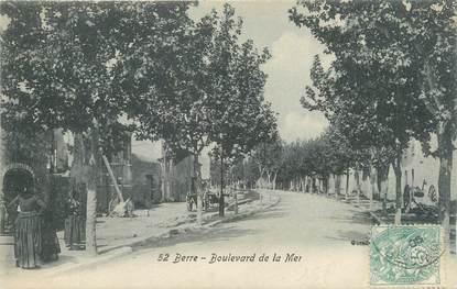 "CPA FRANCE 13 "" Berre, Boulevard de la Mer"""