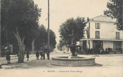 "CPA FRANCE 13 "" Berre, Boulevard Victor Hugo"""
