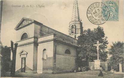 "CPA FRANCE 13 "" Graveson, L'église"""