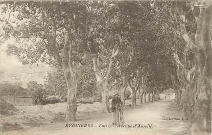 """CPA FRANCE 13 """" Eyguières, Avenue d'Aureille"""""""