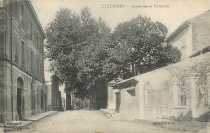 """CPA FRANCE 13 """" Eyguières, La Gendarmerie Nationale"""""""