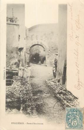 """CPA FRANCE 13 """" Eyguières, Porte d'Anciennes"""""""