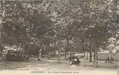 """CPA FRANCE 13 """" Géménos, Le Cours Maréchal Foch"""""""