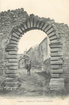 """CPA FRANCE 13 """" Jouques, Ruines de l'ancien Archevêché"""""""