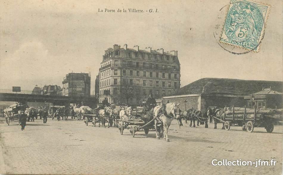 Cpa france 75019 paris la porte de la villette 75 paris 19 eme arrondissement 75019 - La pena porte de la villette ...