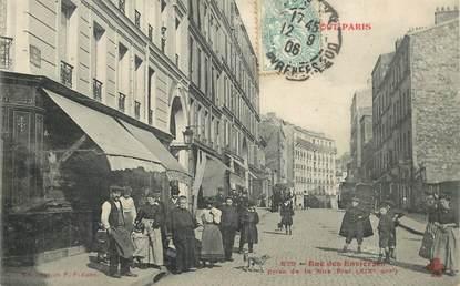 """CPA FRANCE 75006 """"Paris, Rue des Envierges"""""""