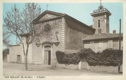 """CPA FRANCE 13 """" Les Milles, L'église"""""""