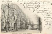 """13 Bouch Du Rhone CPA FRANCE 13 """" Marignane, Cours et Château de Mirabeau"""""""