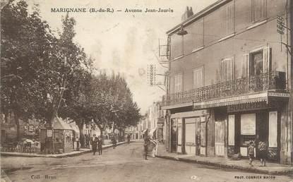 """CPA FRANCE 13 """" Marignane, Avenue Jean Jaurès"""""""
