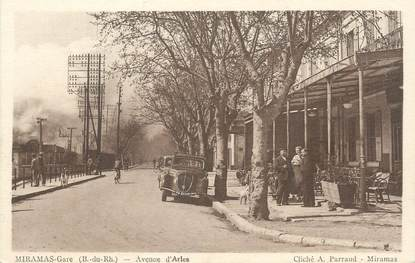 "CPA FRANCE 13 "" Miramas, Avenue d'Arles"""