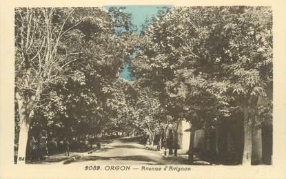 "CPA FRANCE 13 "" Orgon, Avenue d'Avignon"""