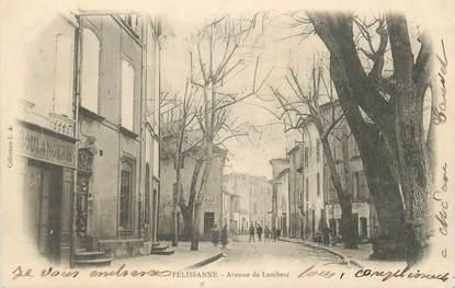 """CPA FRANCE 13 """" Pelissanne, Avenue de Lambesc"""""""