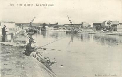 """CPA FRANCE 13 """" Port de Bouc, Le Grand Canal"""""""