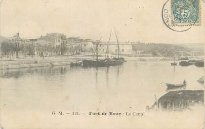 """CPA FRANCE 13 """" Port de Bouc, Le canal"""""""