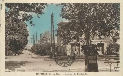 """CPA FRANCE 13 """" Raphèle , Avenue de Fontvieille"""""""